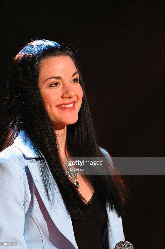 Vanessa Amorosi Appears On The Thomas Gottschalk Show : News Photo