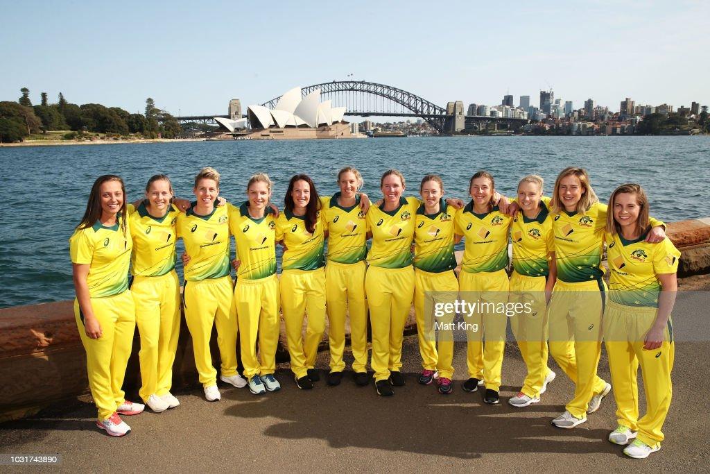 Australian Women's International Squad Announcement : News Photo