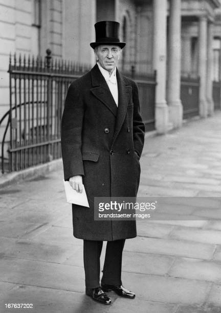 The Austrian ambassador in London Georg Albert von und zu Frankenstein. London. Photograph. February 4th 1937. Georg Albert von und zu Franckenstein,...