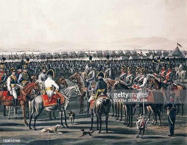 The Austrian cavalry Napoleonic wars Austria 18th century