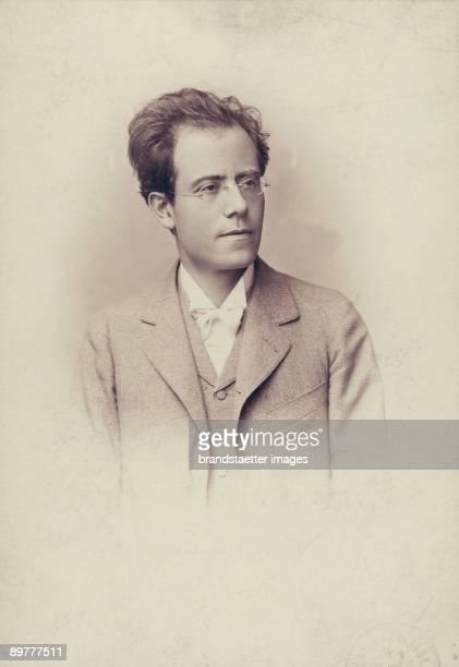 The Austrian composer Gustav Mahler Photograph 1898