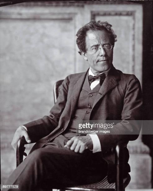 The Austrian composer Gustav Mahler Photograph by Moriz Nähr 1907