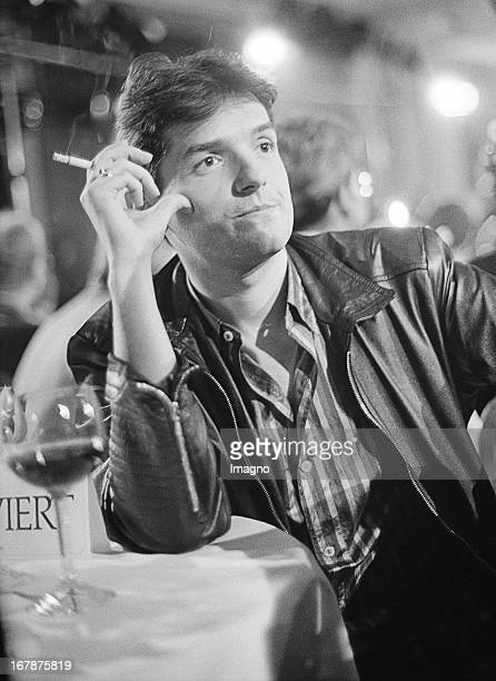 The Austrian musician Johann Hölzl better known as Falco Vienna 1986 Photograph by Nora Schuster Der österreichische Musiker Falco Wien 1986...