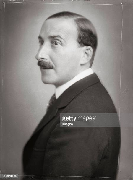 The Austrian writer Stefan Zweig Photograph1925