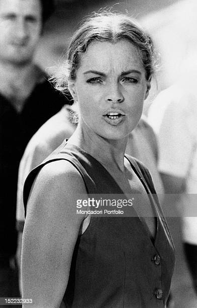 The Austrianborn French actress Romy Schneider acting in 'La Califfa' Parma 1970