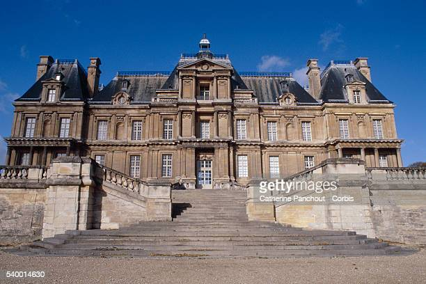 The authentic MaisonsLaffitte castle in France designed by French architect Francois Mansart in the 17th century inspired the Chinese billionaire...
