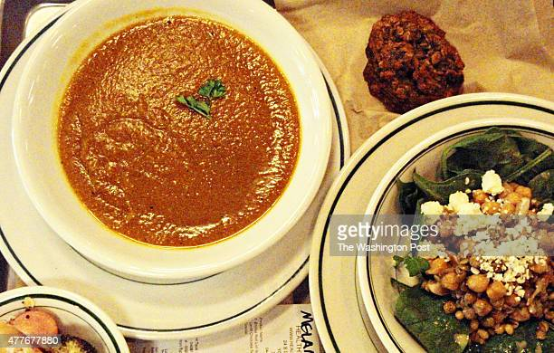 YORK PENNSYLVANIA 2015 The author volunteered all morning to earn her meal butternut and red lentil curry soup bread citrus lentil and chickpea salad...