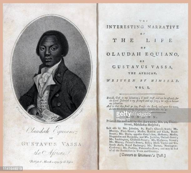 The autobiography of Olaudah Equiano also known as Gustavus Vassa prominent African involved in the British movement for the abolition of the slave...