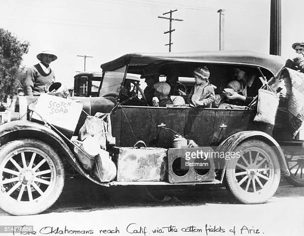The automobile was often the only hope for the future to many families fleeing from the Dust Bowl in the Southwest during the depression years of the...