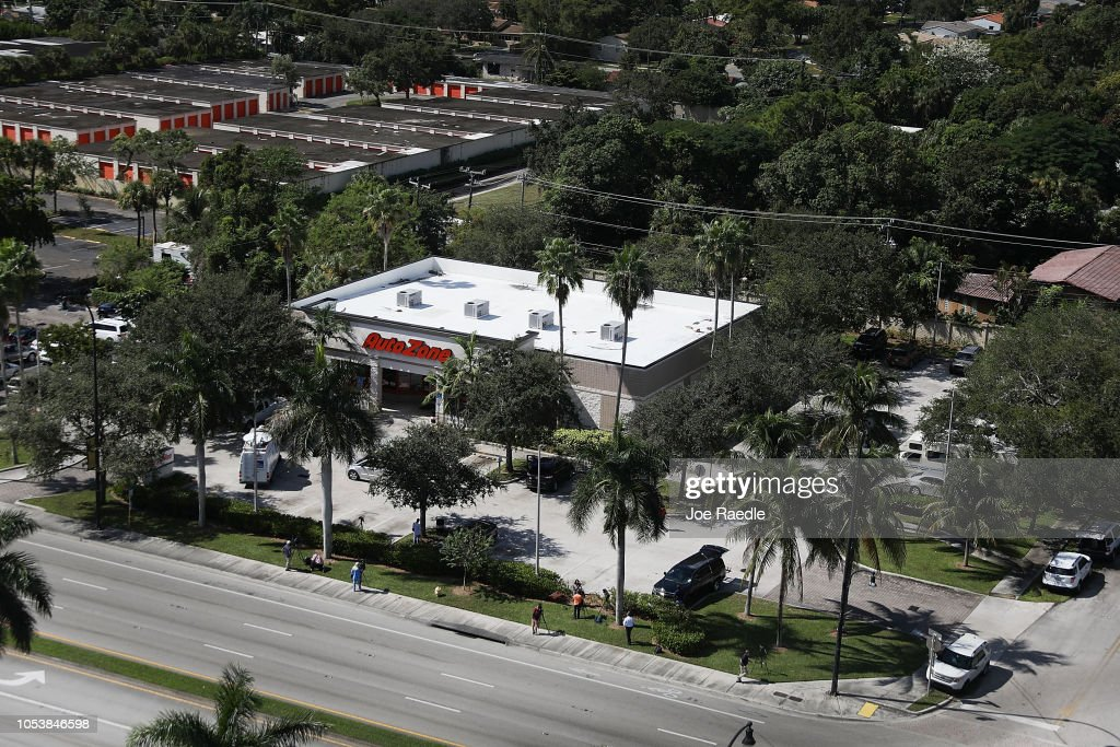 Authorities Arrest Suspect In Serial Mail Bombing Case In South Florida : News Photo