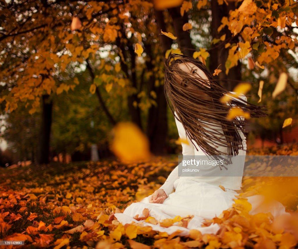 O outono Histórias : Foto de stock