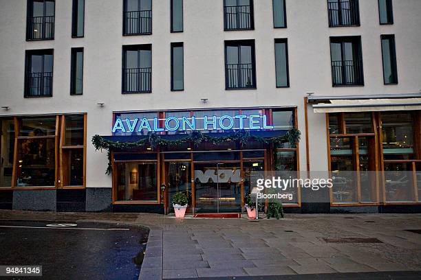 The Avalon Hotel stands in Gothenburg Sweden on Monday Dec 8 2008 Volvo Cars is shedding more than 2700 jobs in Sweden mainly in Gothenburg