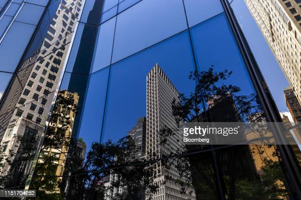 The AvalonBay Communities Inc Park Loggia condominium center is reflected in a building in New York US on Wednesday May 15 2019 AvalonBay Communities...