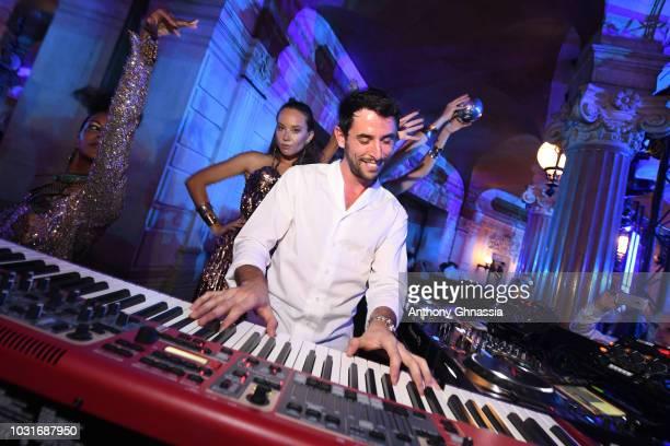The Avener performs during Longchamp 70th Anniversary Celebration at Opera Garnier on September 11 2018 in Paris France