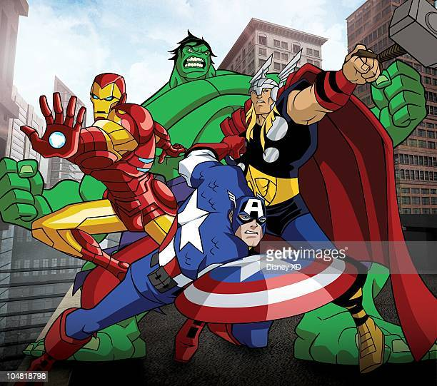 S MIGHTIEST HEROES 'The Avengers Earth's Mightiest Heroes' an allnew animated series featuring the best of the best in the Marvel Universe premieres...