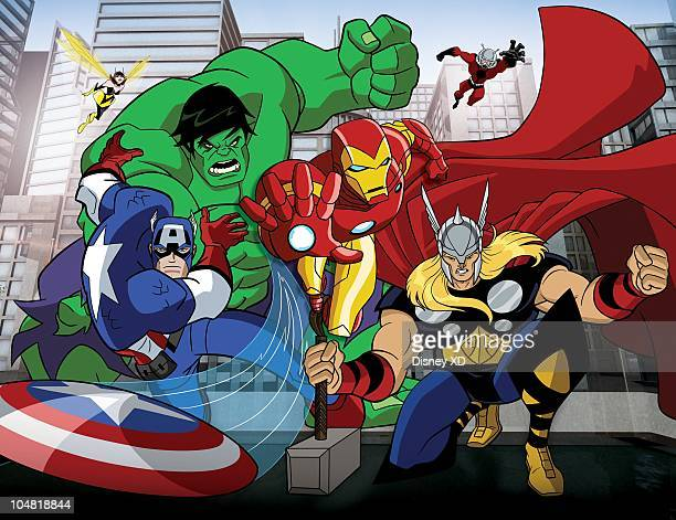 S MIGHTIEST HEROES The Avengers Earth's Mightiest Heroes an allnew animated series featuring the best of the best in the Marvel Universe premieres...