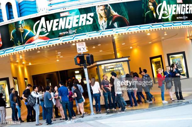 avengers screening im bruin theater - film and television screening stock-fotos und bilder