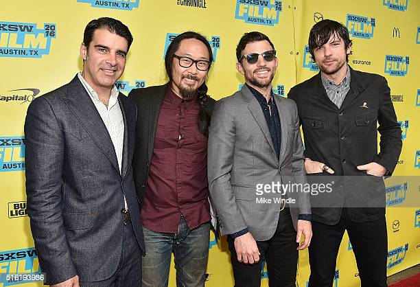 The Avett Brothers attend the screening of 'A Song For You The Austin City Limits Story' during the 2016 SXSW Music Film Interactive Festival at...