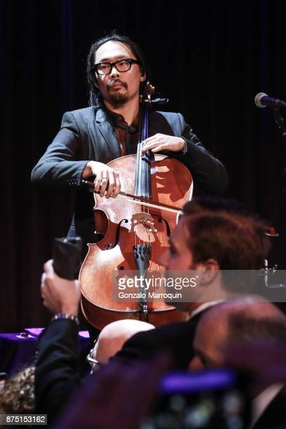 The Avett Brothers during the Samuel Waxman Cancer Research Foundation's 20th Anniversary Gala COLLABORATING FOR A CURE on November 16 2017 in New...