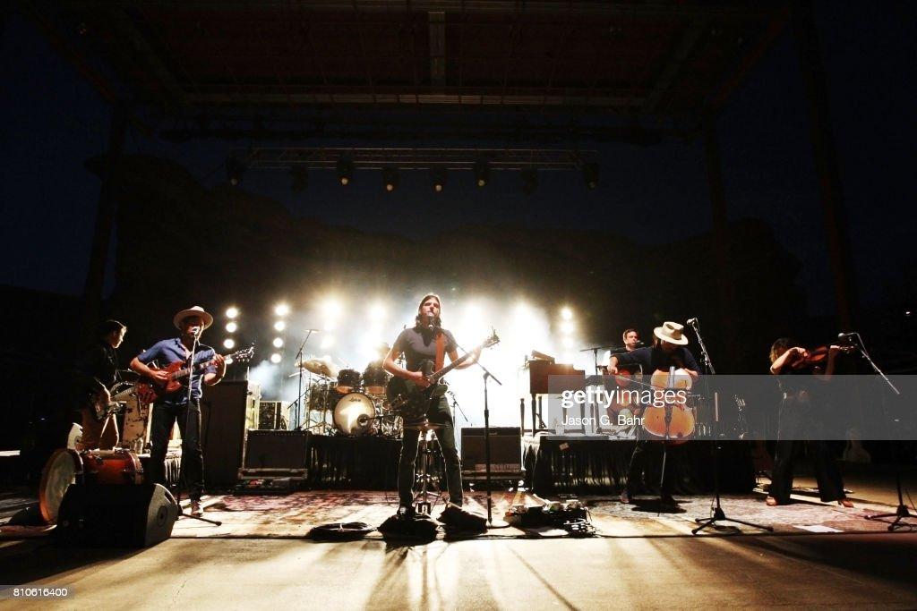 The Avett Brothers In Concert - Morrison, CO