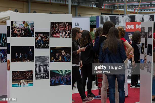 The avid fans of One Direction in the photographic exhibition held at the 8 Gallery Turin One Direction or also known as '1D' is an EnglishIrish pop...