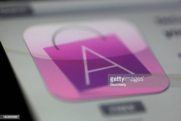 The Avon Products Inc app logo is displayed on an Apple Inc iPad in Des Plaines Illinois US on Tuesday Feb 5 2013 Avon Products Inc is scheduled to...