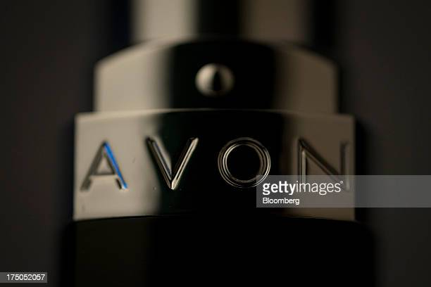The Avon Products Inc logo is seen on a lipstick arranged for a photograph in New York US on Tuesday July 30 2013 Avon Products Inc the doortodoor...