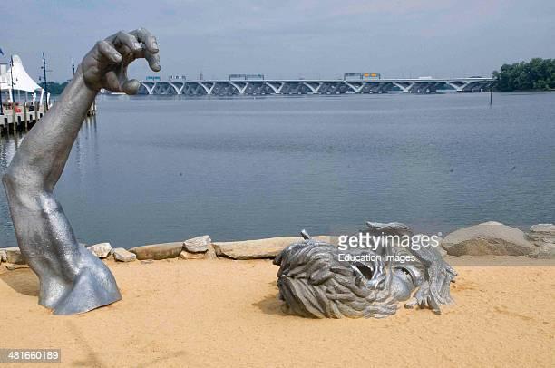 The Awakening statue National Harbor Maryland