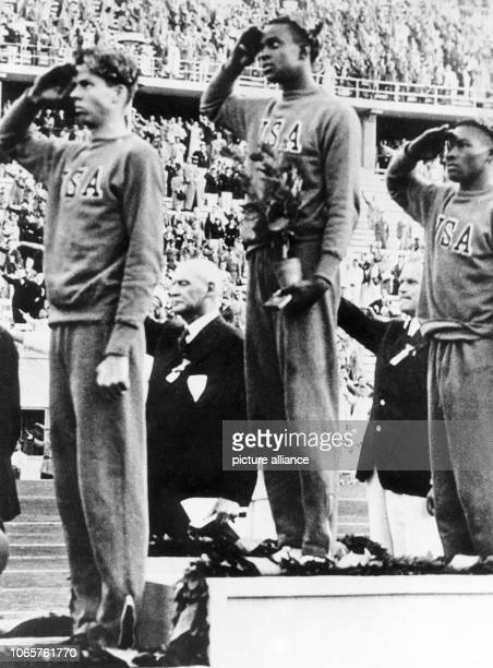 The award ceremony for the high jumpers The USA won the first three places The Summer Olympics 1936 were hold in Berlin from 1st August to 16th...