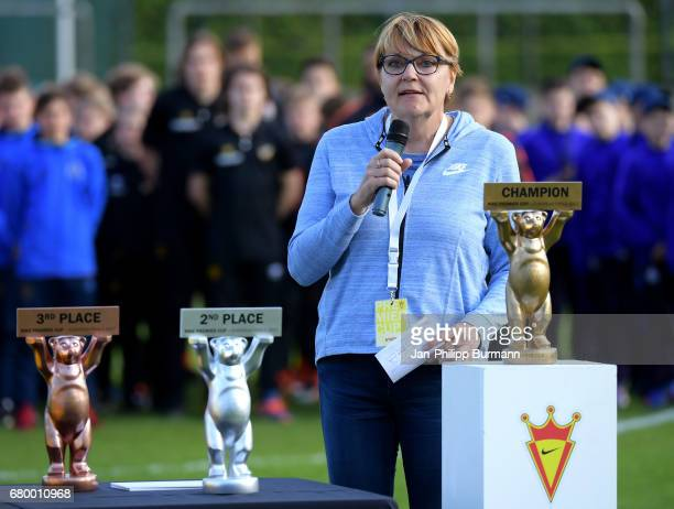 The award ceremony of the Nike Premier Cup 2017 on may 7 2017 in Berlin Germany