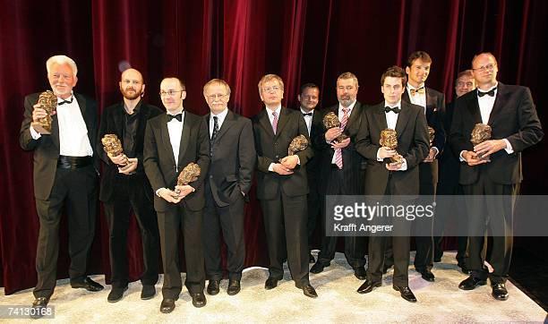 The award winner Robert Lebeck Alessandro Scotty Hans Leyendecker Hans Zippert Uwe Rietzer Dmitrij Muratow Markus Balser Klaus Brinkbaeumer Klaus Ott...