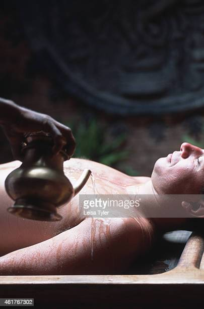 The ayurvedic treatment Pizhichil Meaning the 'Science of Life' ayurveda is an ancient holistic health discipline that seeks to balance mind body and...