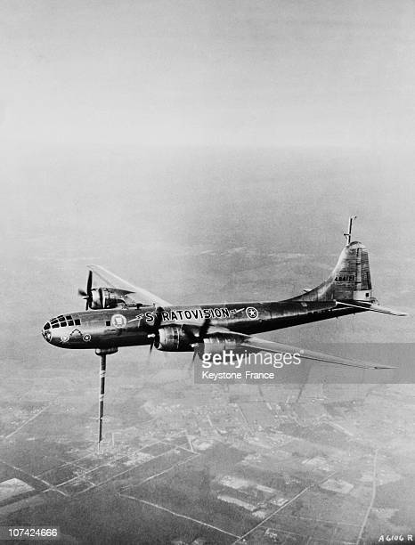 The B 29 Superfortress In Flight At Us Navy In Usa