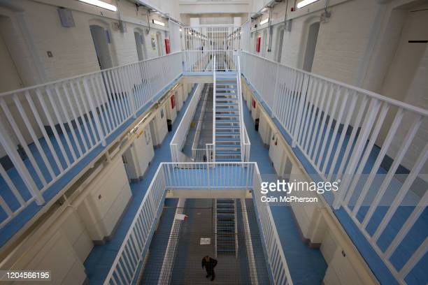 The B Wing facility for newly-arrived prisoners at HMP Liverpool, also known as Walton Prison. The prison was given a scathing report in 2017 which...