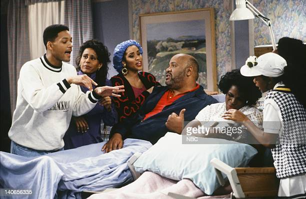 AIR 'The Baby Comes Out' Episode 20 Pictured Will Smith as William 'Will' Smith Vernee WatsonJohnson as Viola 'Vy' Smith Karyn Parsons as Hilary...