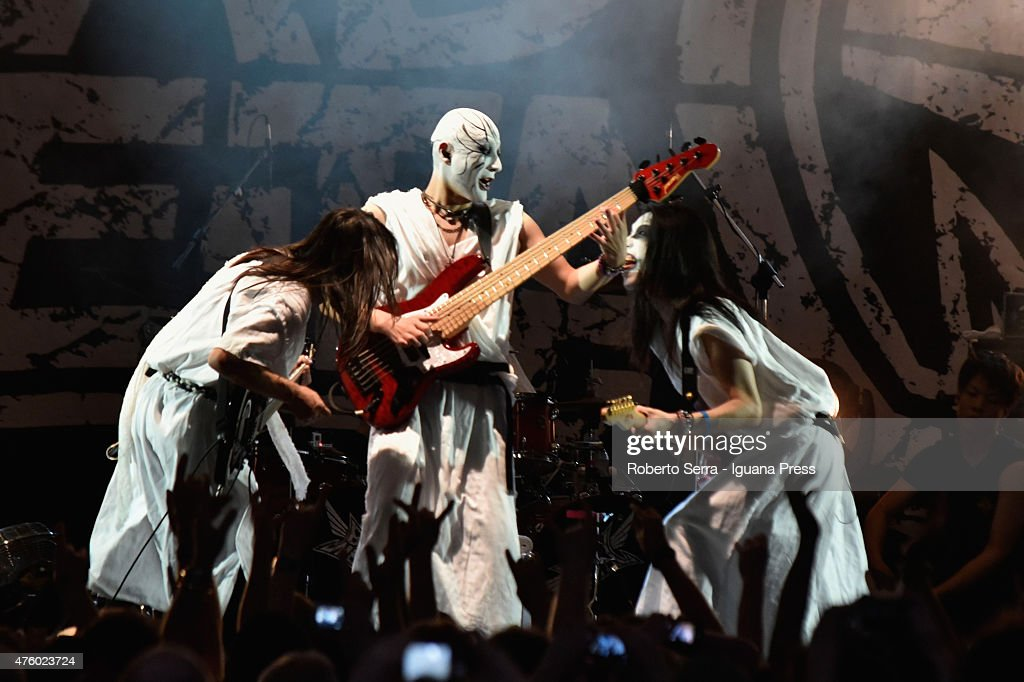 Babymetal Perform In Bologna : News Photo