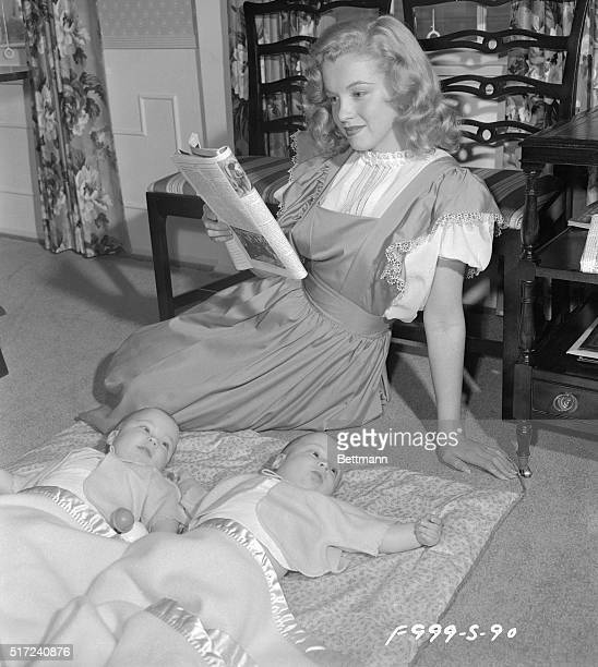 The babysitter in this photo is Marilyn Monroe. Females have been making males do things they didn't want to do since the beginning of time, and so,...