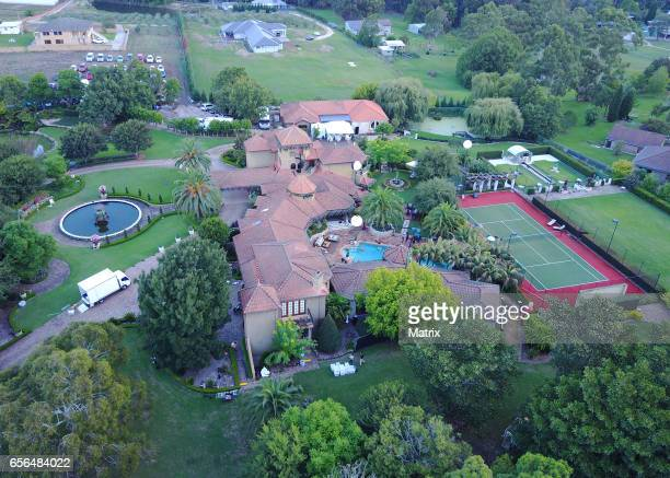 The Bachelor 2017's mansion at Glenorie on March 2 2017 in Sydney Australia