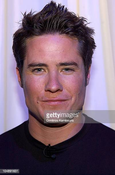 The Bachelor Andrew Firestone during Andrew Firestone of The Bachelor Visits MTV's TRL March 26 2003 at MTV Studios Times Square in New York City New...
