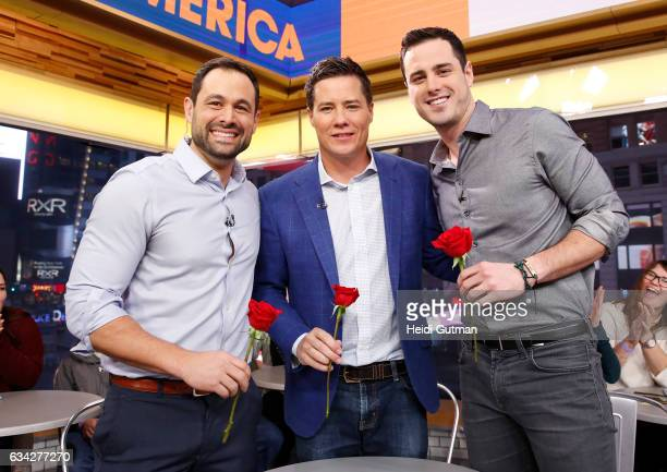 AMERICA The Bachelor Nick Viall is joined by former bachelors on Good Morning America Tuesday February 7 airing on the Walt Disney Television via...