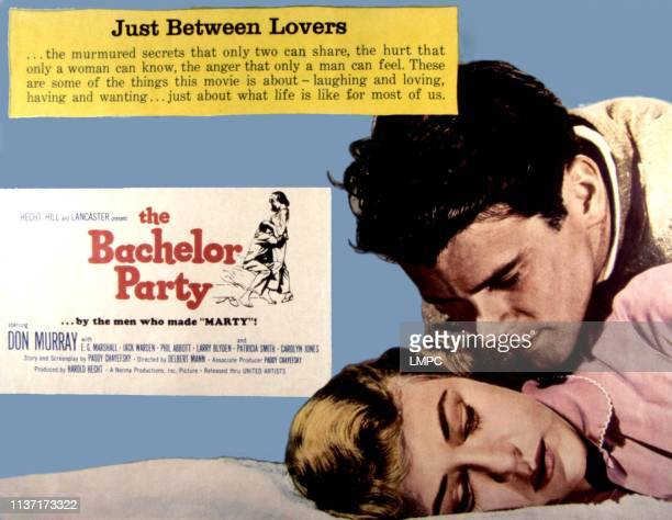 The Bachelor Party poster Don Murray Patricia Smith 1957