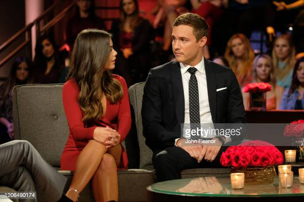 THE BACHELOR The Bachelor Season Finale Part 2 Peter and Hannah Ann discuss their relationship in the hot seat during the second night of the live...