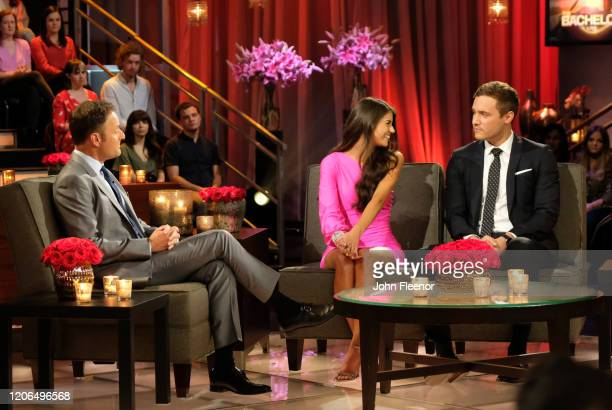 THE BACHELOR The Bachelor Season Finale Part 2 Peter and Madison discuss where they left off in the hot seat during the second night of the live...