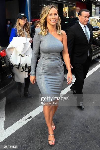 The 'Bachelorette' Clare Crawley is seen outside good morning america on March 2 2020 in New York City