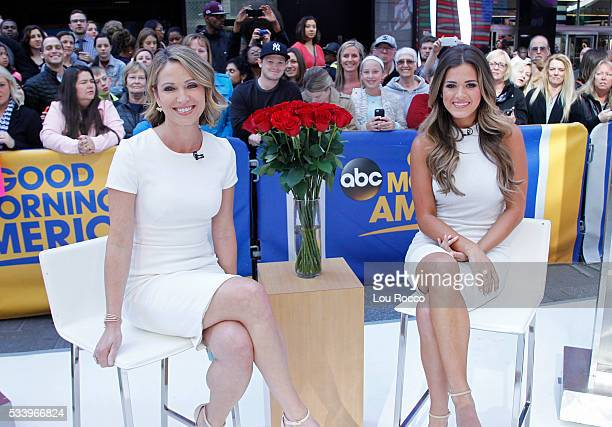 AMERICA The Bachelorette Jojo Fletcher is a guest on Good Morning America 5/23/16 airing on the Walt Disney Television via Getty Images Television...