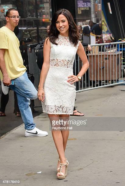 The Bachelorette Kaitlyn Bristowe is seen outside Good Morning America on June 23 2015 in New York City