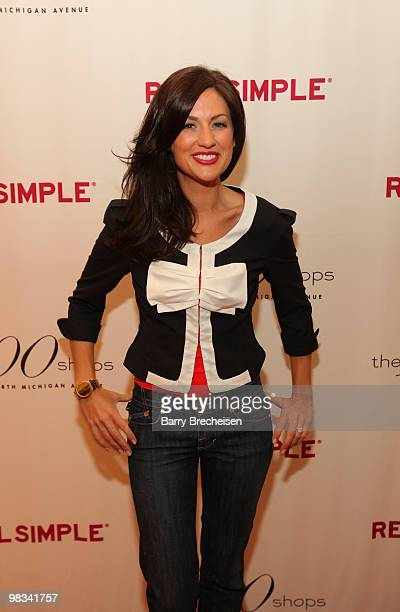 The Bachelorette's Jillian Harris attends the Real Simple 10th anniversary kick-off event at The 900 Shops on April 8, 2010 in Chicago, Illinois.