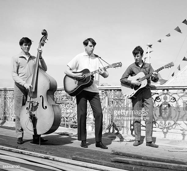 The Bachelors in Blackpool, circa 1966. Left to right: John Stokes, Declan McCluskey, Conleth McCluskey.