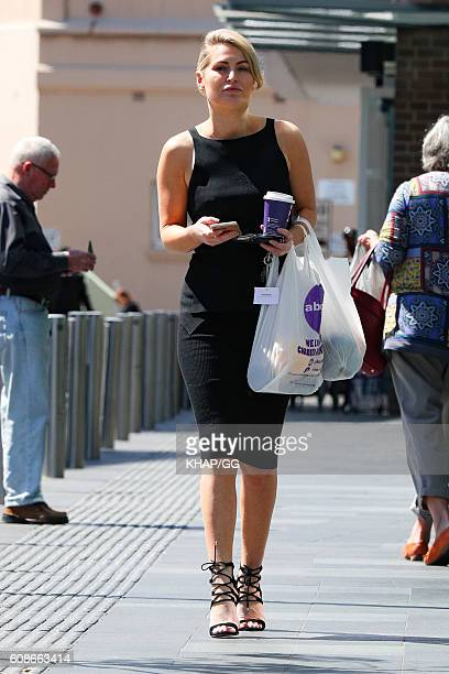 The Bachelor's Keira Maguire is seen shopping on September 20 2016 in Sydney Australia