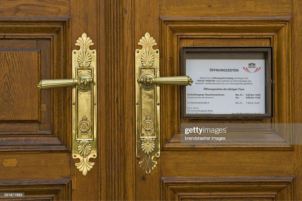 Back Entrance Parliament : News Photo